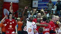 Radost basketbalistů Nymburka