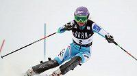 Šárka Záhrobská se chce ve slalomu porvat o nejlepší umístění.