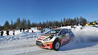 V loňské roce Martin Prokop vyhrál při Švédské rallye poprvé v kariéře rychlostní zkoušku na podniku MS.