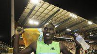 Keňský běžec David Rudisha.
