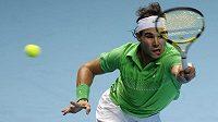 Španělský tenista Rafael Nadal na Turnaji mistrů