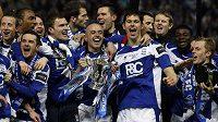Takhle se Birmingham City radoval v únoru ze zisku Carling Cupu. Teď prožívá smutné období.