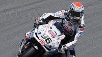 Český motocyklista Jakub Smrž
