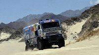 Vladimír Čagin během letošní Rallye Dakar.