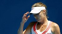 Zklamaná tenistka Iveta Benešová.