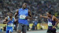 Usain Bolt nezklamal atletické fanoušky ani na mítinku v jihokorejském Tegu, kde opět vyhrál rozdílem třídy.
