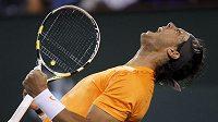 Rafael Nadal po vydřeném vítězství nad Karlovičem.