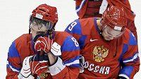 Zklamaný Alexander Ovečkin po prohře s Kanadou