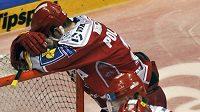 Zklamání třineckých hokejistů po vyřazení z play-off