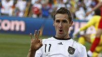 Německý útočník Miroslav Klose je v hledáčku Realu Madrid.