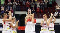 České basketbalistky v přípravě podlehly Francii.