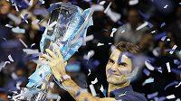 Švýcar Roger Federer se stal pošesté vítězem Turnaje mistrů.