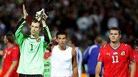 Čeští fotbalisté po utkání na Slovensku