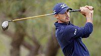 Americký golfista Jonathan Byrd na turnaji v Las Vegas