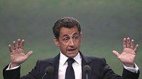 Francouzský prezident Nicolas Sarkozy.