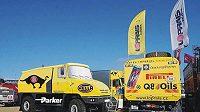 Jeden z vítězných desingových návrhů na nový kamión tatra.