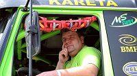 Řidič kamionu Tatra na Dakaru Martin Kolomý
