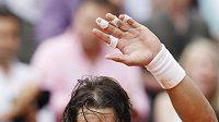 Španělský tenista Rafael Nadal se raduje z vítězství.