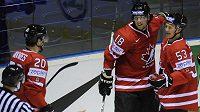 Radost hokejistů Kanady