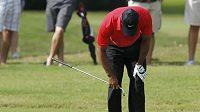 Golfista Tiger Woods má zdravotní potíže
