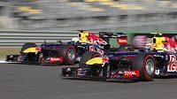 Jezdci Red Bullu ovládli GP Koreje a získali první double v letošní sezóně.