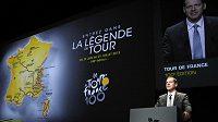 Šéf Tour de France Christian Prudhomme představil trať jubilejního stého ročníku Tour de France.
