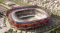 Tak bude vypadat Chalífa Stadium po dokončení.