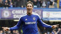 Fernando Torres si v dresu Chelsea moc radosti neužil
