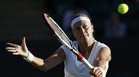Tenistka Petra Kvitová na Wimbledonu