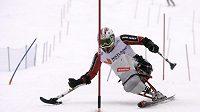 Miroslav Šperk vyhrál jako první český lyžař na monoski v historii závod Evropského poháru.