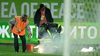 Fanoušci moskevských klubů narušili duel 4. předkola mezi Machačkalou a Alkmaarem