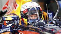 Sebastian Vettel během Velké ceny Evropy ve Valencii