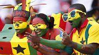 Fanoušci Ghany