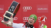 Rakouský lyžař Marcel Hirscher.