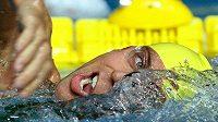 Australský plavec Grant Hackett