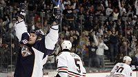 Hokejový útočník Jason Arnott ještě v dresu Nashvillu.