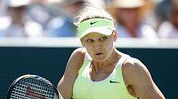 Tenistka Lucie Šafářová na turnaji v Charlestonu