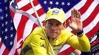 Cyklista Lance Armstrong v dobách své nehvětší slávy.