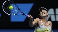 Ruská tenista Maria Šarapovová nepovolila v prvním kole Australian Open své soupeřce Pučkovové ani jednu hru.