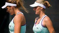 České tenisové sestry-dvojčata Karolína a Kristýna Plíškovy