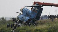 Michal Barinka měl štěstí. Nechybělo mnoho a i on mohl zahynout v troskách letadla.