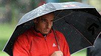 Desetibojař Roman Šebrle na atletickém mítinku IAAF ve vícebojích, který pokračoval 10. června v Kladně.