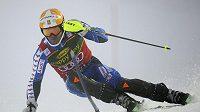 Švédský lyžař Andre Myhrer v Levi