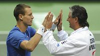 Bude mít Jaroslav Navrátil a Tomáš Berdych v Argentině zase důvod k radosti?