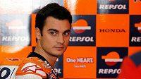 Španělský motocyklista Dani Pedrosa