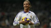 Guti v době své největší slávy, v dresu Realu Madrid