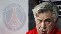 Trenér Paris St. Germain Carlo Ancelotti