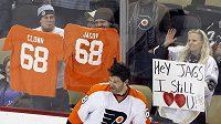 Pro některé fanoušky v Pittsburghu byl Jágr klaunem, jiní ho stále milují.