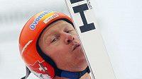 Svýcar Didier Cuche po triumfu na sjezdovce Kandahar v Garmisch-Partenkirchenu
