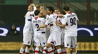 Radost fotbalistů Boloně